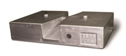 calibration weight cast iron nesting slab rlws • PKM Industrial, S.A.