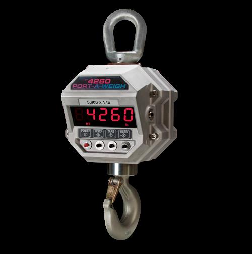 msi 4260 port a weigh crane scale msi 4260 is intrinsically safe crane scale • PKM Industrial, S.A.