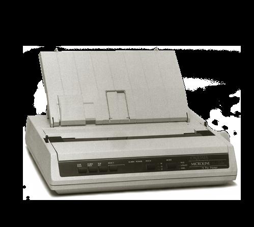 okidata 186 plus microline printer • PKM Industrial, S.A.